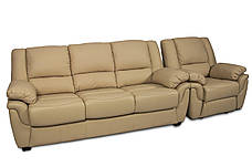 """Раскладной диван в комплекте с креслом-реклайнером """"ALABAMA"""" (3+1), фото 2"""