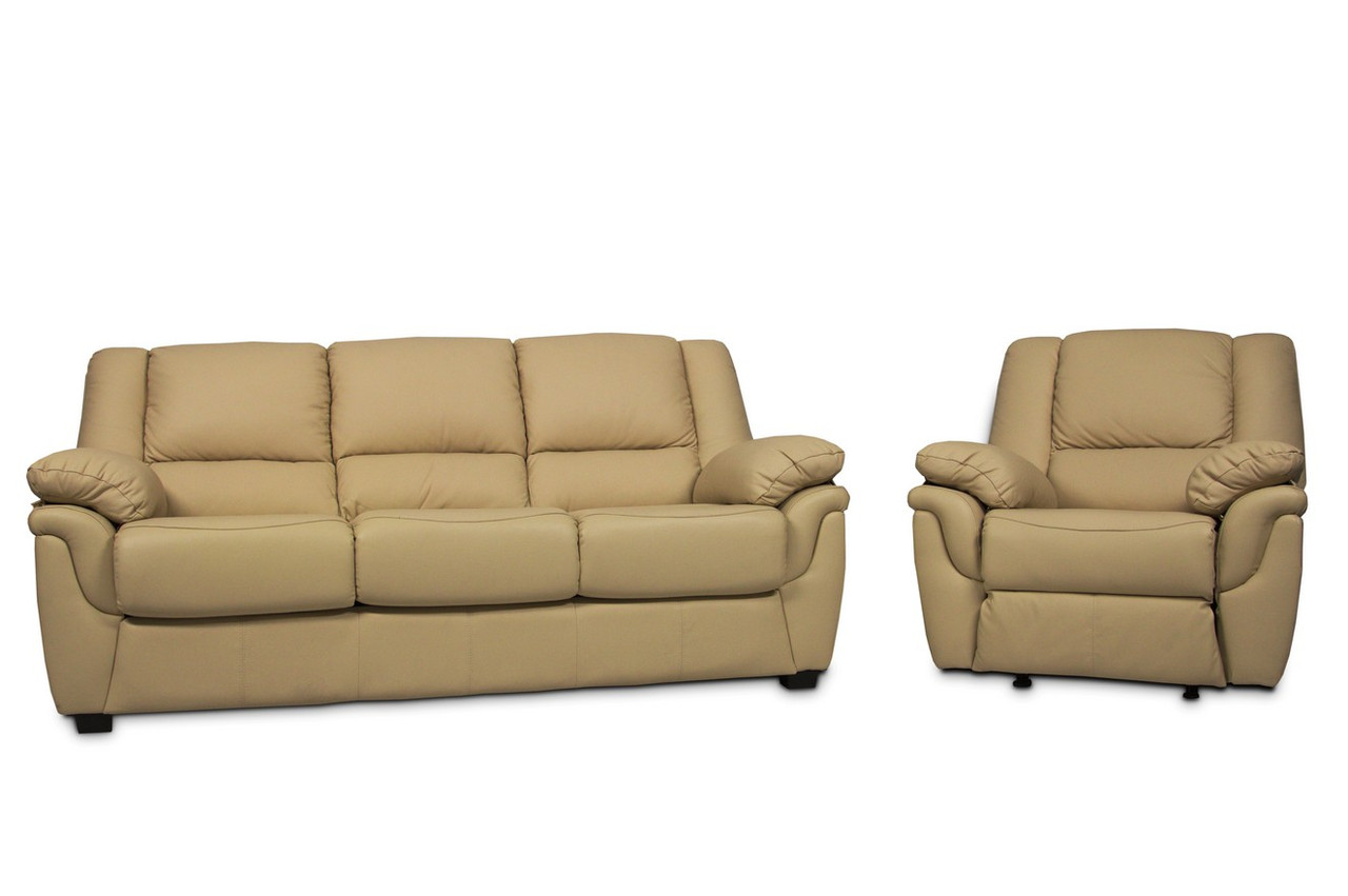 """Розкладний диван в комплекті з кріслом-реклайнером """"ALABAMA"""" (3+1)"""