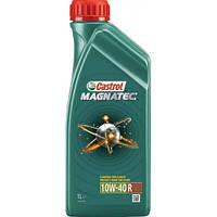 Полусинтетическое моторное масло Castrol Magnatec (Кастрол Магнатек) 10w-40 1 л