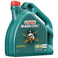 Полусинтетическое моторное масло Castrol Magnatec (Кастрол Магнатек) 10w-40 4 л