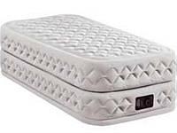 Велюровая надувная кровать INTEX 64462 New 2017
