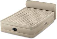 Велюровая надувная кровать INTEX 64460 New 2017
