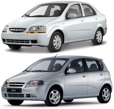 Chevrolet Aveo T200 03-06