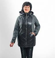 Куртка женская пальто деми (54-58), доставка по Украине