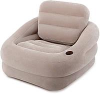Одноместное надувное кресло Интекс 68587