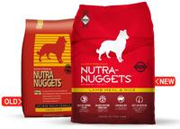 Акция! Nutra Nuggets Lamb Meal & Rice корм для собак, склонных к аллергии, 18 кг