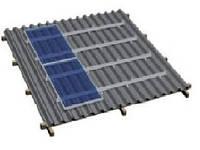 Комплект на металлочерепичную скатную крышу