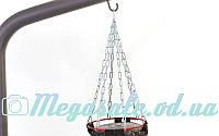 Цепь для боксерского мешка с карабином 4092Y2: 4 луча + 4S крючка, металл, длина 39см