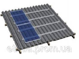 Комплект на металлочерепичную скатную крышу на 6 модулей