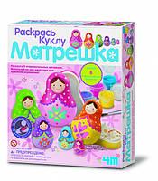 Раскрась куклу Матрешка 4М (00-04617)