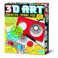 Креативные веселые спиральки 3D 4M (00-04616)