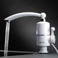 Проточный водонагреватель Делимано электрический кран