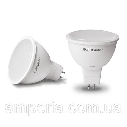 EUROLAMP LED Лампа ЕКО MR16 5W GU5.3 3000K (LED-SMD-05533(D)), фото 2