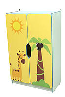 """Стеллаж для игрушек """"Африка"""" секция 2"""
