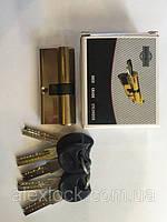 Латунный секрет с лазерным ключем ( Computer key)C 62mm 26/36 PB ключ/ключ