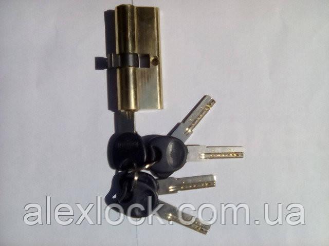 Цинковий секрет з англійським ключем ( Normal key)ZN 60 30/30 3K PB ключ/ключ