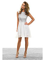 Выпускное легкое платье от Lusien  E-08