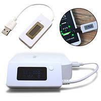Улучшенный USB тестер для измерения емкости аккумуляторов, батарей KCX-017. Хорошее качество.  Код: КГ589