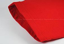 Мужская Футболка c Цветными Рукавами Fruit of the loom Белый/Красный 61-026-Wm S, фото 2