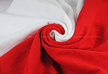 Мужская Футболка c Цветными Рукавами Fruit of the loom Белый/Красный 61-026-Wm S, фото 3