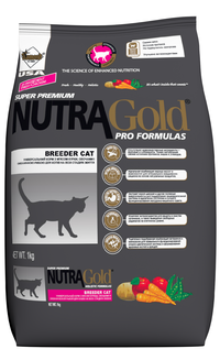 Nutra Gold Breeder Cat Formula (Бридер) корм для кошек всех возрастов, 1 кг - Интернет-зоомагазин Royal Zoo в Харькове