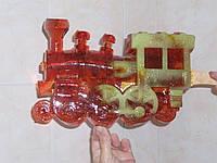 Леденец на палочке ПАРОВОЗ конфета в подарок 3 кг