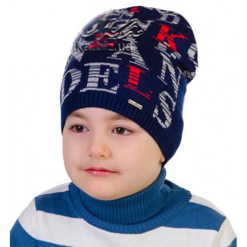 Модная шапка для мальчика