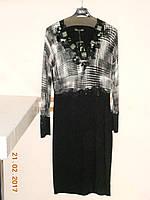 Черно-белое платье с квадратиками, фото 1