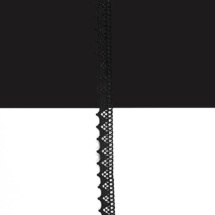Кружево Hobby K-5004 цвет 13 черн., 1,5 см