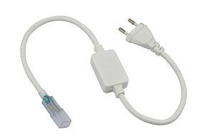 Кабель питания для LED лент 220В Biom (3528/3014-120) влагозащищенный IP65