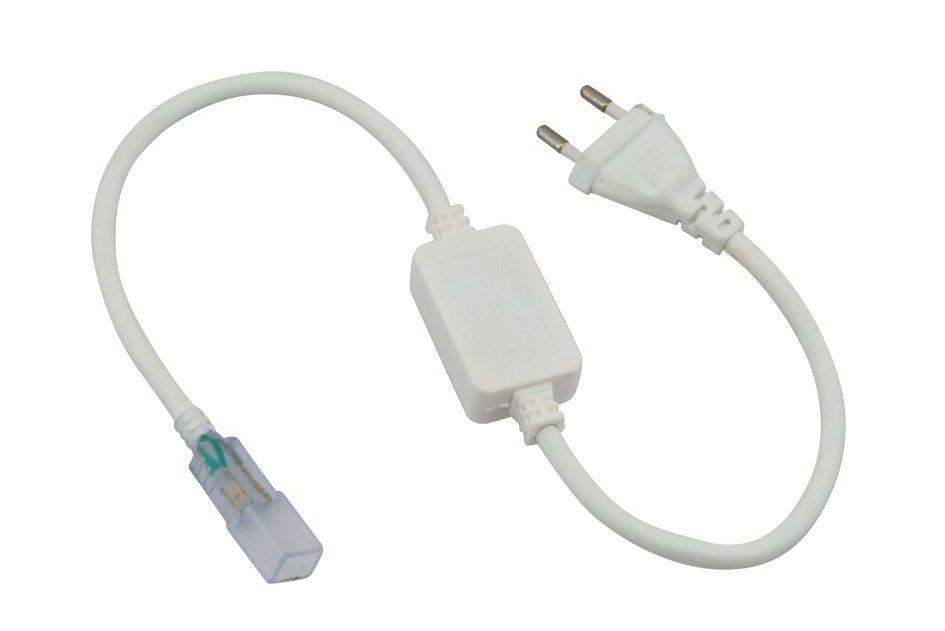Кабель питания для LED лент 220В Biom (3528/3014-120) влагозащищенный IP65 - ЭЛЕКТРОПАРК в Днепре