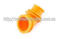 """Патрубок воздушного фильтра   Suzuki LET'S   """"KOMATCU""""   (желтый)"""