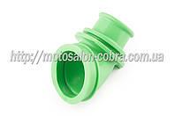 """Патрубок воздушного фильтра   Suzuki LET'S   """"KOMATCU""""   (зеленый)"""