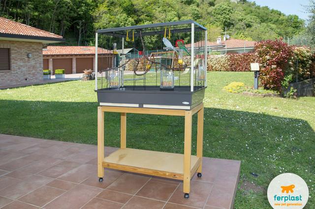 Клетки Ferplast для средних попугаев и птиц