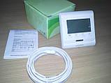 Цифровой терморегулятор для теплого пола Menred E60, фото 6
