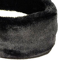 Утеплитель (вставка) меховой VR женский для ботиков черный, фото 2