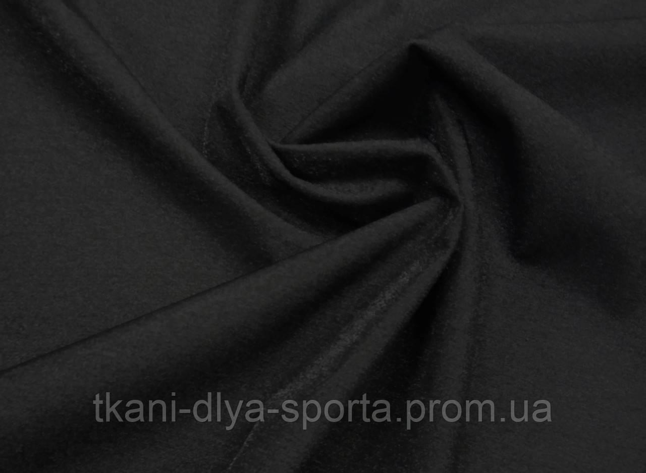 Стрейч-сетка «кожа ангела» черная