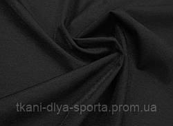 Стрейч-сетка «кожа ангела» с отливом черная