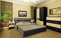 Кровать Камелия с подъемным механизмом с мягким изголовьем двуспальная