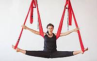Гамак для йоги с ручками  Antigravity Yoga, аэро йога гамак