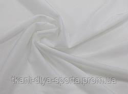 Стрейч-сетка «кожа ангела» с отливом белая