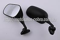 """Зеркала   """"SPOON""""   широкоформатные (нога 70mm, черные)"""