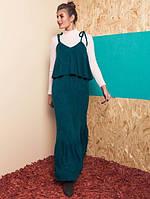 Женский тёплый сарафан макси Harritta (разные цвета)