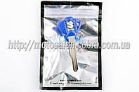 """Ключ замка зажигания (заготовка)   Suzuki   (с эмблемой, длинный, синий)   """"KOMATCU"""""""