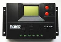 Контроллер заряда  АСМ20D+USB