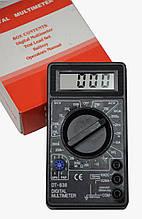 Цифровой мультиметр со звуком Тестер DT-830