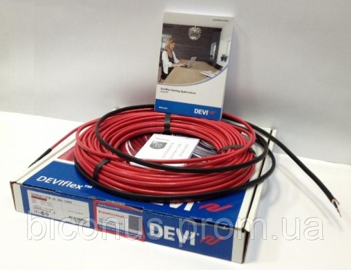 Нагревательный кабель DEVIflex 18Т (1625W) (230V)  90м  двухжильный со сплошным экраном
