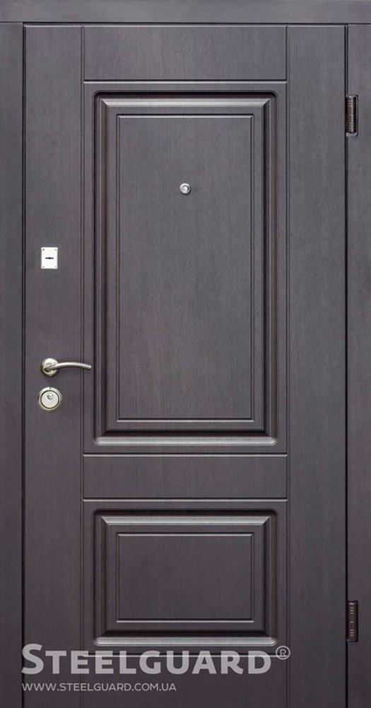 Двери входные Steelguard DO-30 (Венге темный, 157)