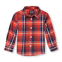 Хлопковая рубашка на мальчика 12-18 мес США