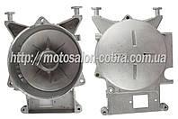 """Крышка (левая) статора бензогенератора   ET-950   """"JIANTAI""""   (с подшипником 6203)"""